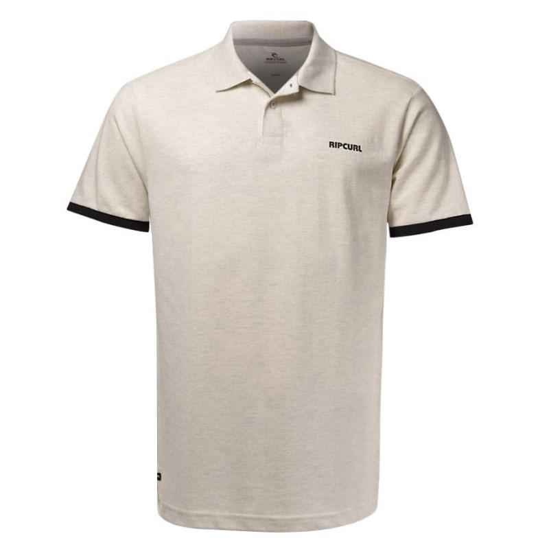Compre Camisa Masculina Polo Basic Plus Size Bege na Back Wash! fa3d00ed3c