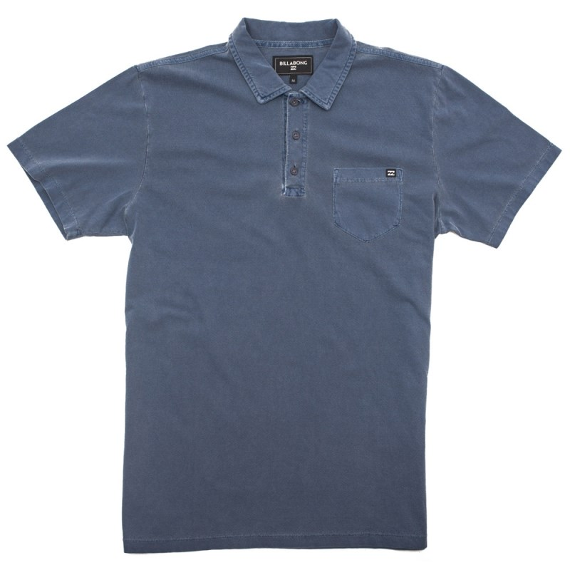 Camisa Polo Billabong Zenith Azul