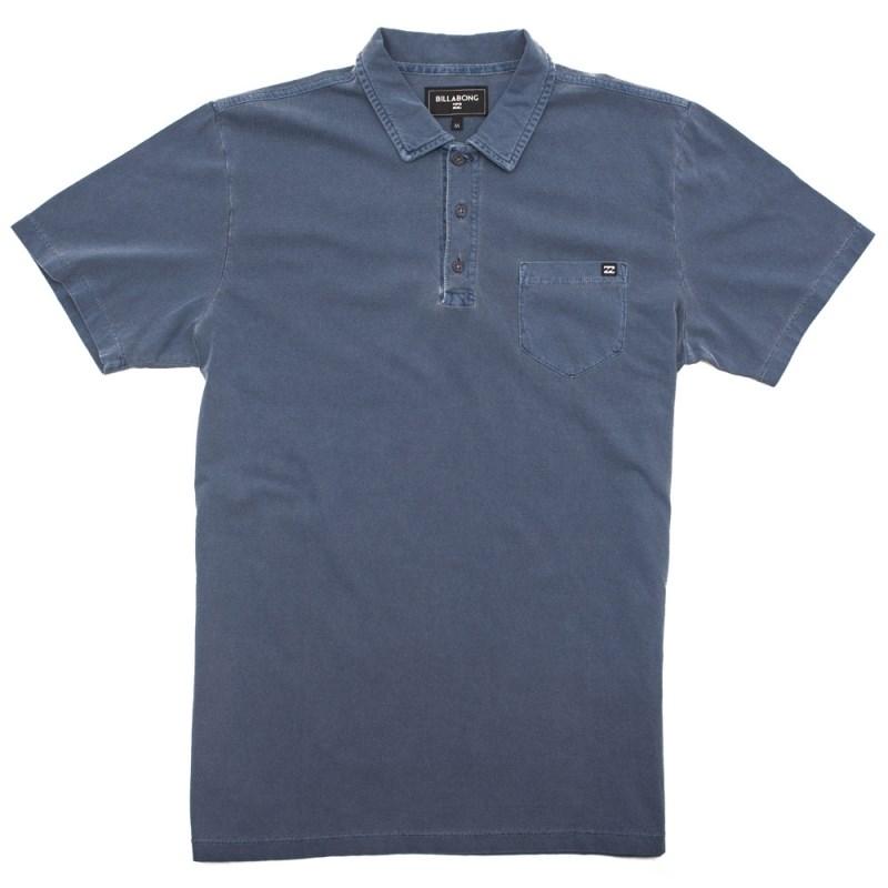 Camisa Polo Billabong Zenith Azul - Compre na Back Wash! f3eaa5aa17