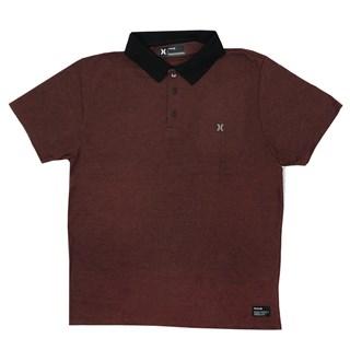 Camisa Polo Hurley Classic Vermelha