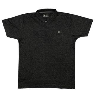 Camisa Polo Hurley Icon Preta