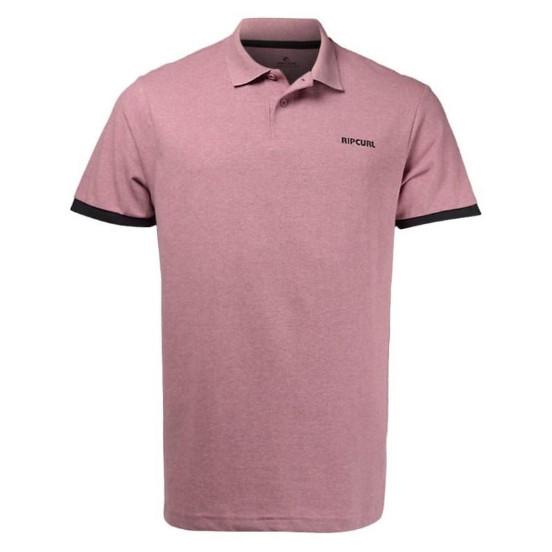 Camisa Polo Masculina Rip Curl Rosa - CPL0050 - Back Wash 0265de67f0