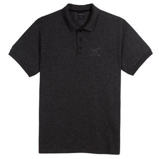 Camisa Polo Oakley Dark Sport Skull Preta