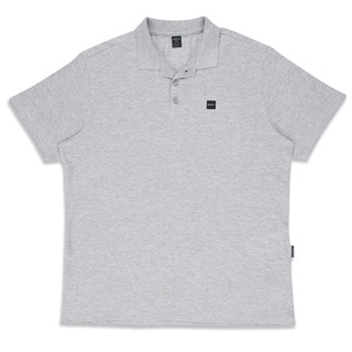 Camisa Polo Oakley Patch 2.0 Cinza
