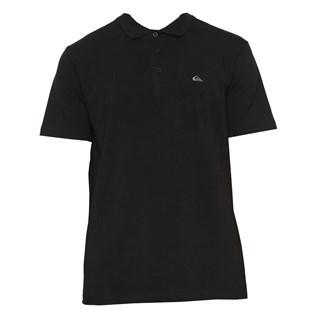 Camisa Polo Quiksilver Preta