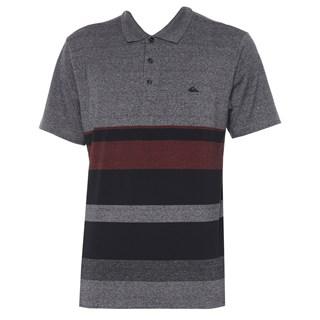 Camisa Polo Quiksilver Vista Cinza Escuro