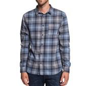 Camisa Quiksilver Fatherfly Shirt Azul