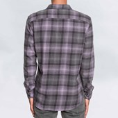 3dc960ed6 Camisa Quiksilver Fatherfly Shirt Cinza Camisa Quiksilver Fatherfly Shirt  Cinza