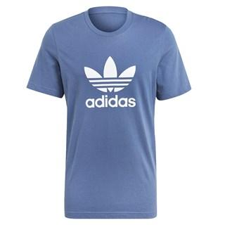 Camiseta Adidas Adicolor Classics Trefoil Azul