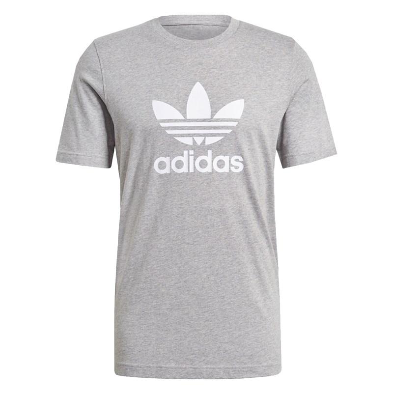 Camiseta Adidas Adicolor Classics Trefoil Cinza