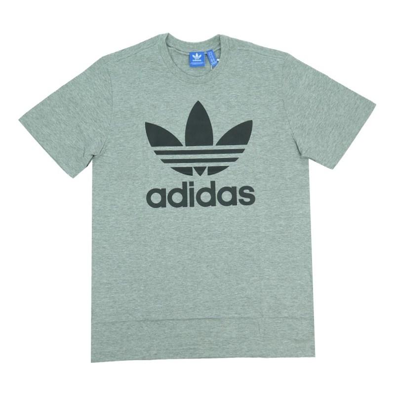 Camiseta Adidas Trefoil Cinza - BackWash dbb3ca374cbea1  Camiseta adidas  Originals Trefoil Tongue Vermelha - Compre Agora ... 2d10f2da14914