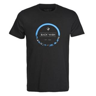 Camiseta Back Wash Circle Preta