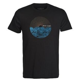 Camiseta Back Wash Wave Preta