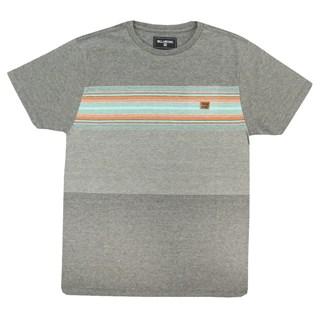 Camiseta Billabong All Day Stripe Cinza