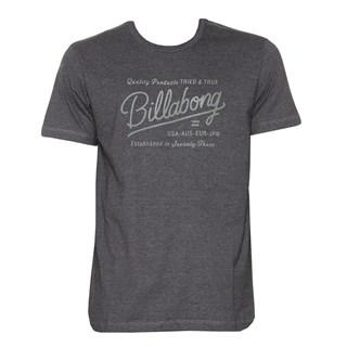 Camiseta Billabong Baldwin Cinza Escuro