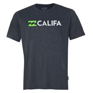 Camiseta Billabong Destination CA Cinza Escuro