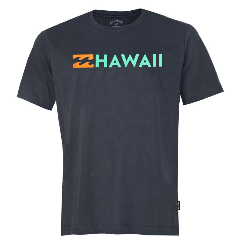 Camiseta Billabong Destination HI Cinza Escuro
