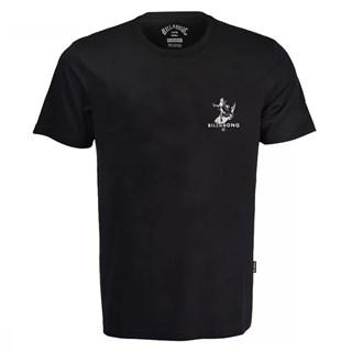 Camiseta Billabong Olas Falsas Preta