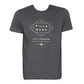 Camiseta Billabong Outfield Cinza Escuro
