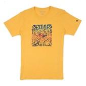 Camiseta Billabong Premium Haight Amarela