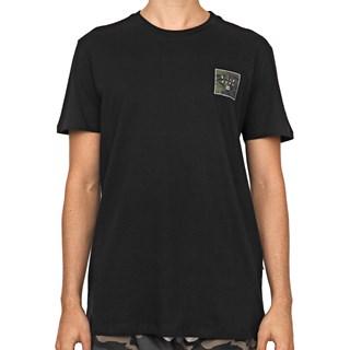 Camiseta Billabong Stacked Fill Preta