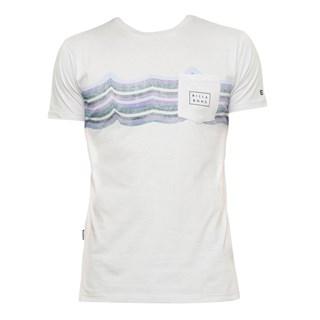 Camiseta Billabong Team Strip ll Cinza Claro
