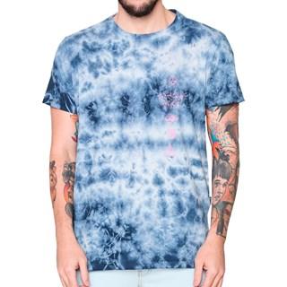 Camiseta Billabong Tie Dye Quad Azul