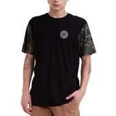 Camiseta DC Camo Circle Preta