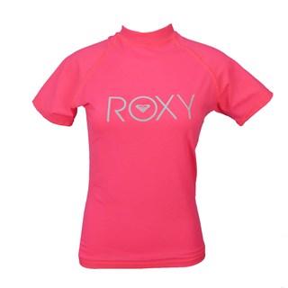Camiseta de Lycra Feminina Roxy Rosa