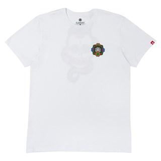 Camiseta Element Abyss Branca