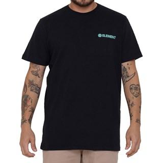 Camiseta Element Blazin Chest Preto