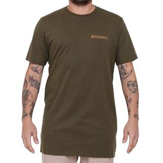 Camiseta Element Blazin Chest Verde