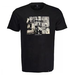 Camiseta Element Collage Preta