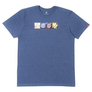 Camiseta Element Horizontal Seasons Azul Marinho