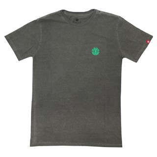 Camiseta Element Minimal Logo Cinza