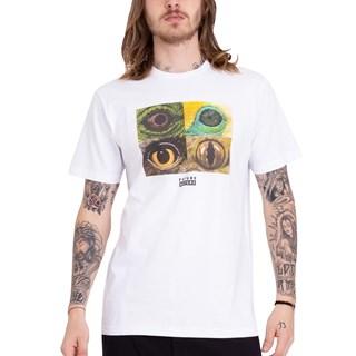 Camiseta Element National Geographic Optical Branca