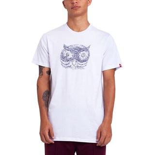 Camiseta Element Timber In The Owl Branca