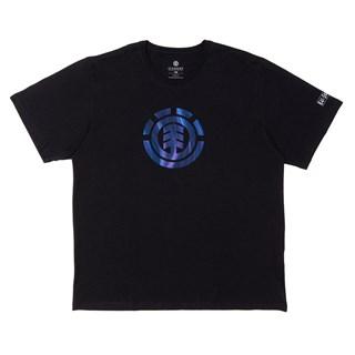 Camiseta Element Twists Logo Preta