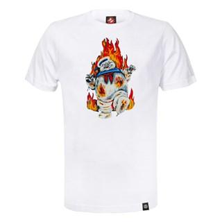 Camiseta Element x Ghostbusters Inferno Branca