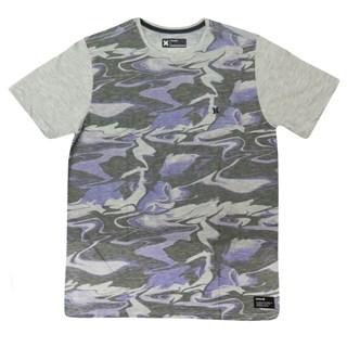 Camiseta Especial Hurley Militar Roxa
