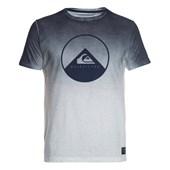 Camiseta Especial Masculina Quiksilver Degradê Azul Branco