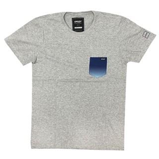 Camiseta Especial Oakley Iridium Zone Cinza Claro