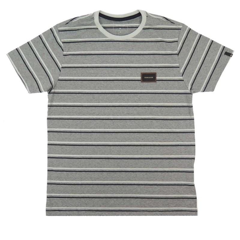Camiseta Especial Quiksilver Rain Cinza - BackWash 7cd2ac560b