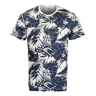 Camiseta Especial Rip Curl Blue Highway Branca e Azul