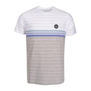 Camiseta Especial Rip Curl The Staple Branca e Cinza