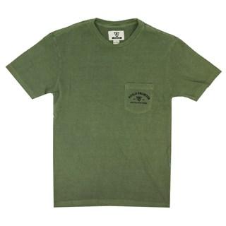 Camiseta Especial Vissla Crafters Pigment Verde