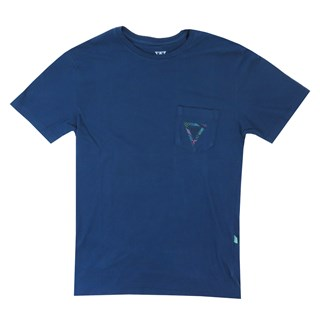 Camiseta Especial Vissla Lups Upside Azul