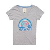 Camiseta Feminina Billabong Dream Vacation Cinza