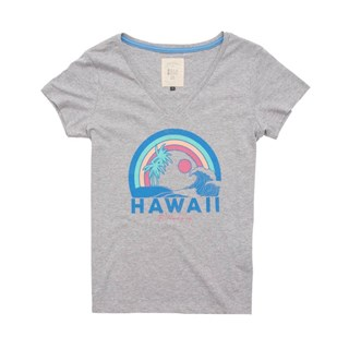 Camiseta Feminina Billabong Dream Vacation Cinza