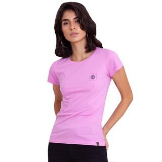 Camiseta Feminina Element Bottled Romance Rosa